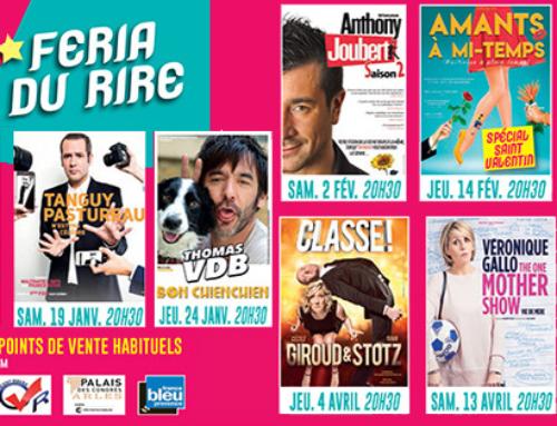 31/12/2018 au 23/05/2018  : Féria du Rire à Arles